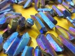 Titanium dipped Quartz Crystals